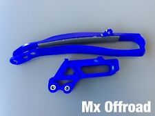 Kit cruna passacatena e patino scorricatena  YAMAHA YZF 250/450 BLU
