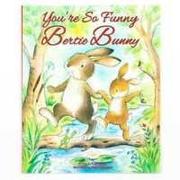 Grand Enfants Bedtime Story Votre So Drôle Bertie Bunny Image Livre Neuf 3223