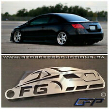 Honda Civic FG coup Rare JDM Stainless Steel metal Custom Keychains FD FA