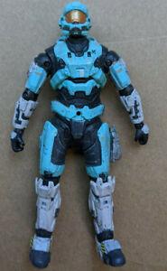 Halo Reach Series 2 Spartan Airborne HAZOP Cyan McFarlane Figure Great Condition