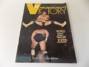 Victory Magazine WWF Vol. 1 NO. 1 First Edition Sgt. Slaughter Andre the Giant