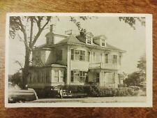 1950s Seaside Hotel Resort Gloucester Massachusetts Photo Ad Postcard MA
