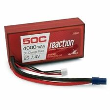 Dynamite Reaction 7.4v 4000mah 2S 50C Lipo Battery 96mm EC3 For Vaterra Ascender