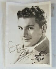 1950's Liberace Photograph Personalized Autograph and Piano Sketch