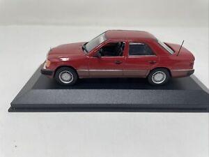 Minichamps 1/43 Mercedes Benz 300 D Turbo red 3210 NEW!!