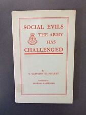 Social Evils The Army Has Challenged by S. Carvosso Gauntlett