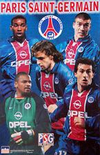 Classic PARIS SAINT-GERMAIN Poster (1998/99) - Marco Simone, Laurent Robert, +++