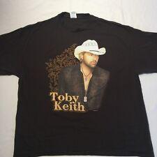 Toby Keith Biggest  Baddest Tour T-Shirt.  Adult XXL