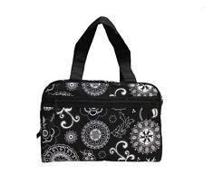 Thirty One Cosmetic Make Up bag Tote Handle Women toiletries Travel Bag