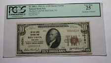 $10 1929 Red Creek New York NY National Currency Bank Note Bill #10781 VF25 PCGS