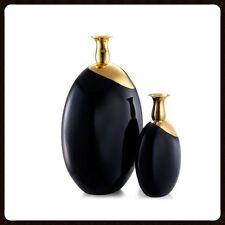 Keramik Vase Kunstobjekt Goldlegiert Handarbeit aus Italien