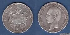 Grèce 5 Drachmes 1876 A TB George Ier - Greece 5 Drachmai