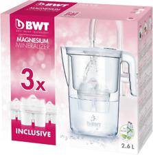 BWT Vida 2,6L Tischwasserfilter mit 3 Filterkartuschen - Weiß (815485)