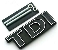 TDI Front Grille Emblem Badge Auto Car Logo Fit For VW MK 4 5 6 Golf Polo GTI
