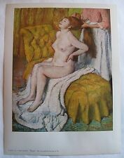 EDGAR DEGAS The Toilet 1958 Vintage PRINT