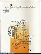 Inside the Macintosh Communications Toolbox Addison-wesley publishing company 91
