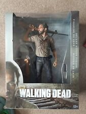 The Walking Dead Rick Grimes 10 Inch Deluxe Action Figure McFarlane Toys New