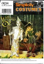 Wizard of Oz Halloween costume pattern Simplicity 0634 7814 Child Size 3 4 5 6 7