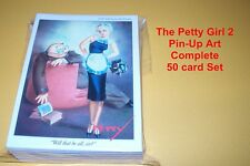 THE PETTY GIRL 2 / II Pin-Up Art  Trading Card Set