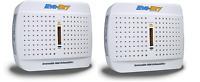 2~New! Eva-Dry Renewable Mini-Dehumidifier 100 volts Eco-friendly Silent E-333