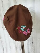 Baby GAP Toddler Hat Butterfly Embroidery Sz 12-24mn