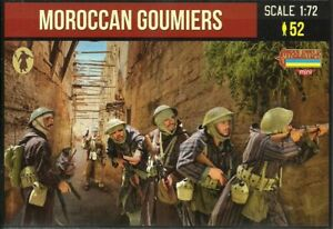 Strelets 1/72 (20mm) WWII Moroccan Goumiers