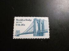 United States Scott  2041, the 20 cent Brooklyn Bridge Issue Mint