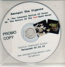 (Cm568) Amongst The Pigeons, The Inherent Racism of Doves - 2012 Dj Cd