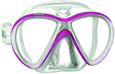 Mares X-VU Sunrise Liquidskin Mask Scuba Diving Free Dive Pink