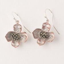 Michael Michaud - Dogwood Earrings - Silver Seasons Jewelry - MadeInUSA