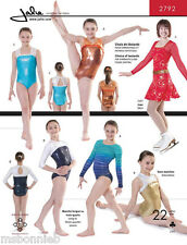 Jalie 2792 Leotards w/Sleeve Options Gymnastics & Figure Skating Sewing Pattern