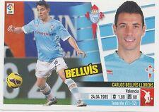 N°07B CARLOS BELLVIS LLORENS # ESPANA RC.CELTA STICKER PANINI ESTE LIGA 2014