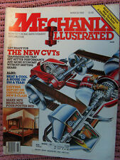 Mechanix Illustrated Mag, new CVT's, heat & cool house $50/ Mar.1983