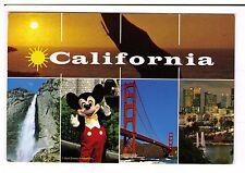 Postcard: Multiview - California, USA