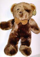 "Dan Dee Collectors Choice Brown Bear 14"" Plush Stuffed Animal"