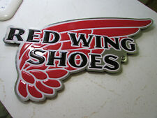 Real Shoe Store Red Wing Shoes Advertising Sign with Wings, Not Tin or Aluminum