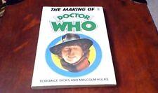 The Making of Doctor Who - Terrance Dicks Malcolm Hulke Target Books UK PB 1986