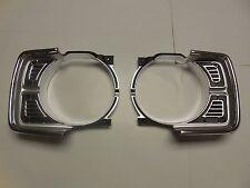 Mopar 69 Dart Headlight Bezels 1969 NEW