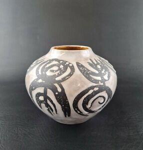 Jasba Vase 111/12 vintage Design Keramik ceramic west german pottery 60s 60er