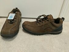 New Nunn Bush Men's Brown Quest Bicycle Toe Rugged Casual Oxford Shoes Size 9M