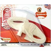 Nylabone Dura Chew Original Flavored Dental Dinosaur Chew Toy, Dinosaur Style ..