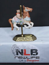 Willitts Design Limited Edition Carousel Horse Group 2 Firing no.3 - With Teddy