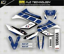 Yamaha WR125X best quality decals stickers kit 2009-12