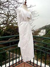 RARE JUNYA WATANABE Boil Cotton Wrap NOBACK Wedding Evening Gown Free Size