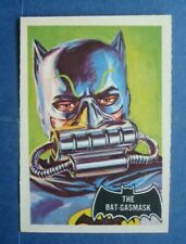 "Rare 1966 A&BC **BATMAN - Black BAT** Card # 43 ""The BAT-GASMASK""  Dark KNIGHT"