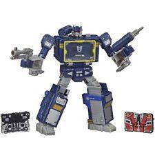 Transformers War For Cybertron Trilogy Voyager Class Soundwave Netflix