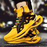 Men's Sports Sneakers Shoes Casual Running High Top Shoes Athletic Outdoors Mesh