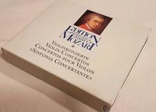 Edition Wolfgang Amadeus Mozart 2 CD Album, Violinkonzerte Club Edition 1988