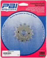 PBI - 332-14 - Front Countershaft Sprocket, 14T - Made In USA