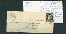 À VOS OFFRES ! [124] CERES lettre 6 janvier 1849 Dampierre sur Salon / Besançon